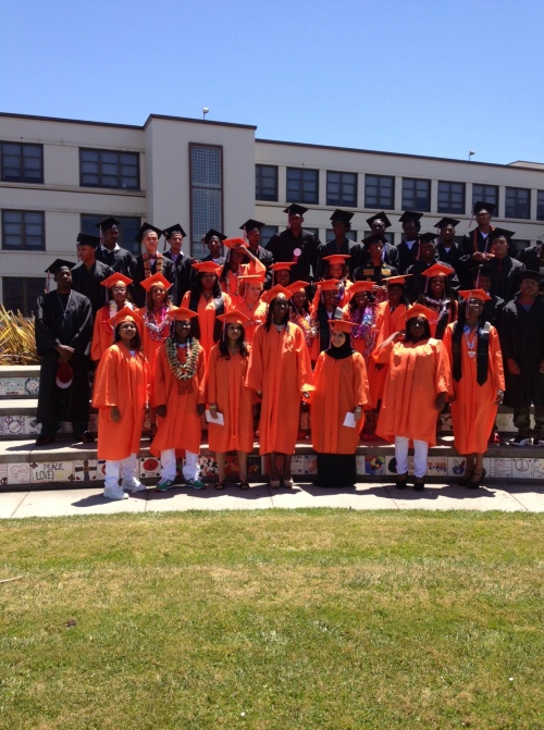 Congratulations to 2013 McClymonds graduates
