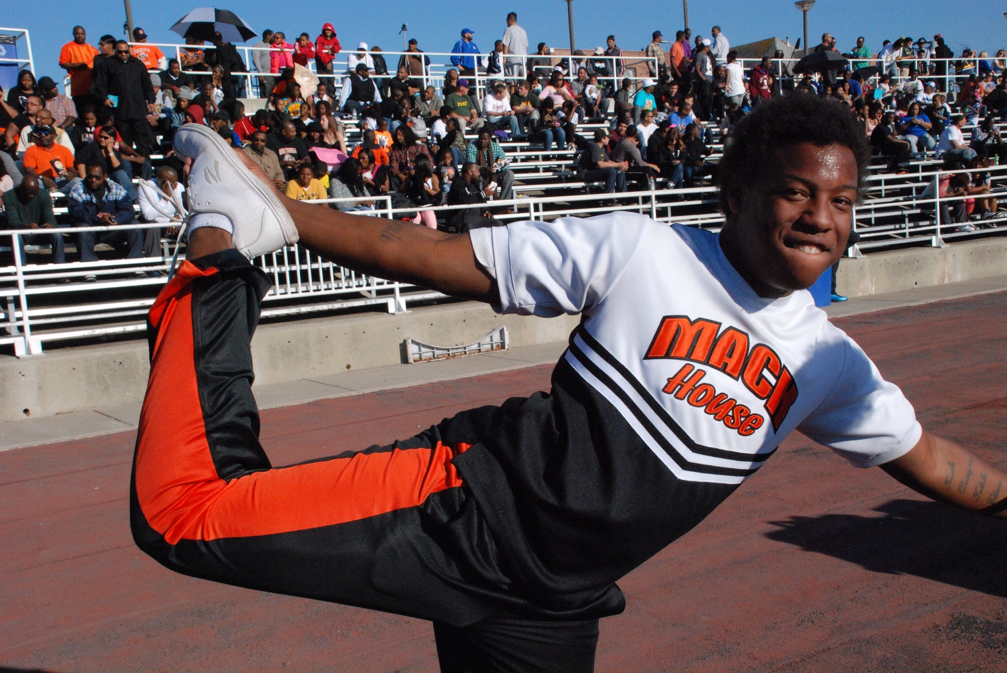 cheerleader Black guy